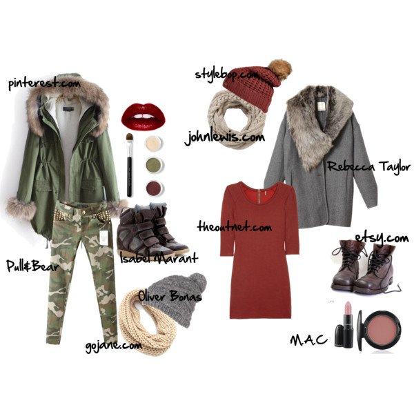 De jolis manteaux avec de jolies tenues. (l)