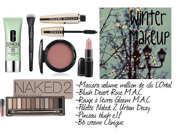 Makeup pour cet hiver... <3