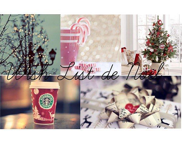 Wish List de Noël <3