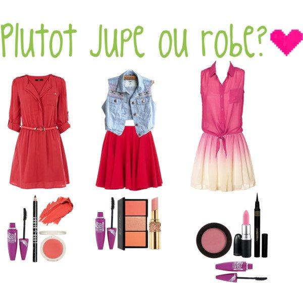 Jupe ou robe pour le printemps? ♥