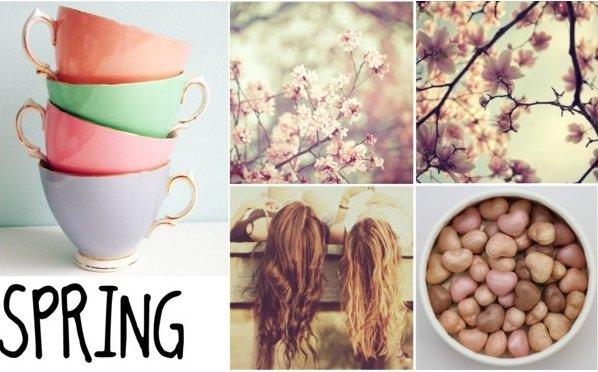 2 Tenues + Montage de printemps... ♥