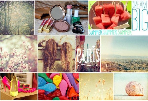 Montage d'été! ♥