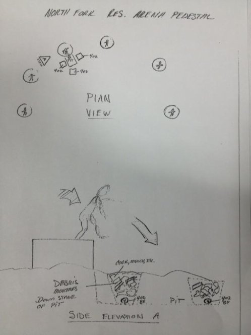 Des dessins guide pour les caméras! Extrait du storyboard!