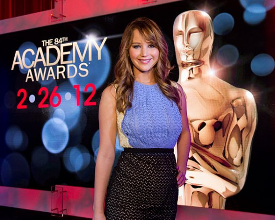 Jen a présenté les nommés de la 84 ème cérémonie des Oscars!