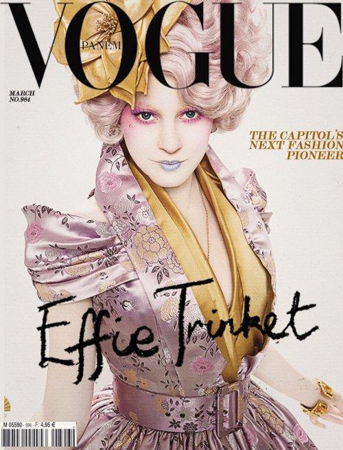 Effie pose pour Vogue Panem !