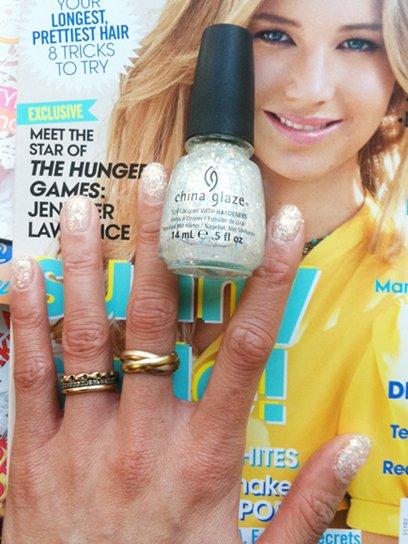 Les vernis Hunger Games - Essais par Teen Vogue!