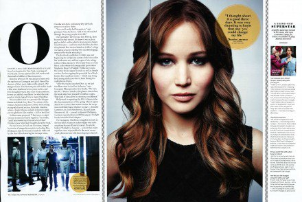 Scan du Hollywood Reporter spécial Hunger Games