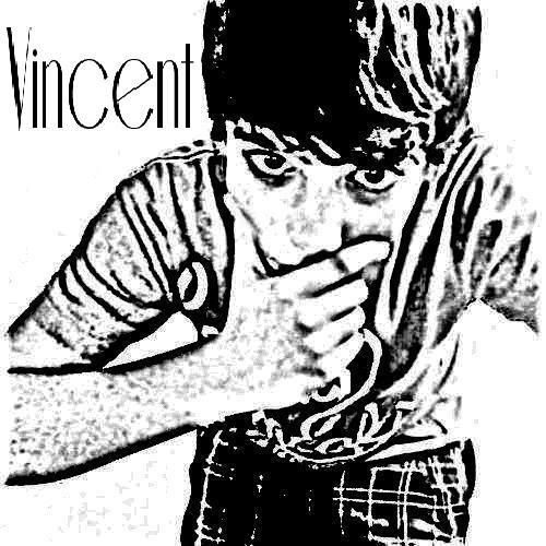 """""""V"""" comme Vincent ;D"""