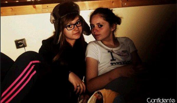 Coralie & Maryne? Juste les deux filles a connaître quoi! ♥