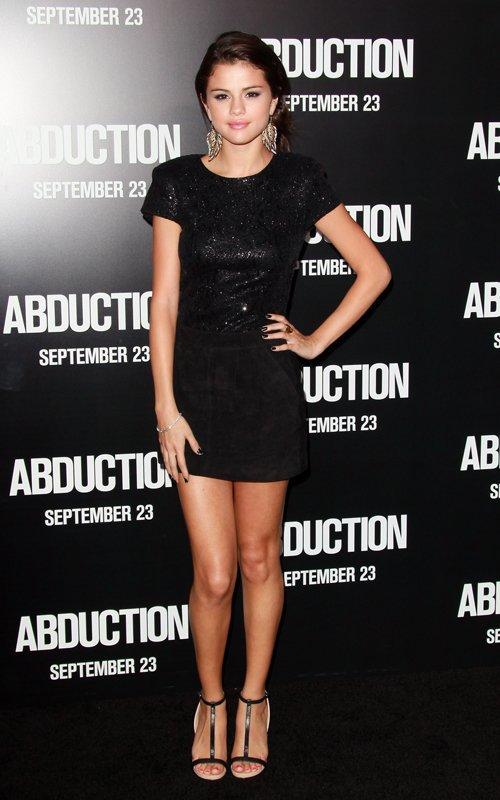 Selena Gomez : Justin Bieber, la première d'Adbuction !