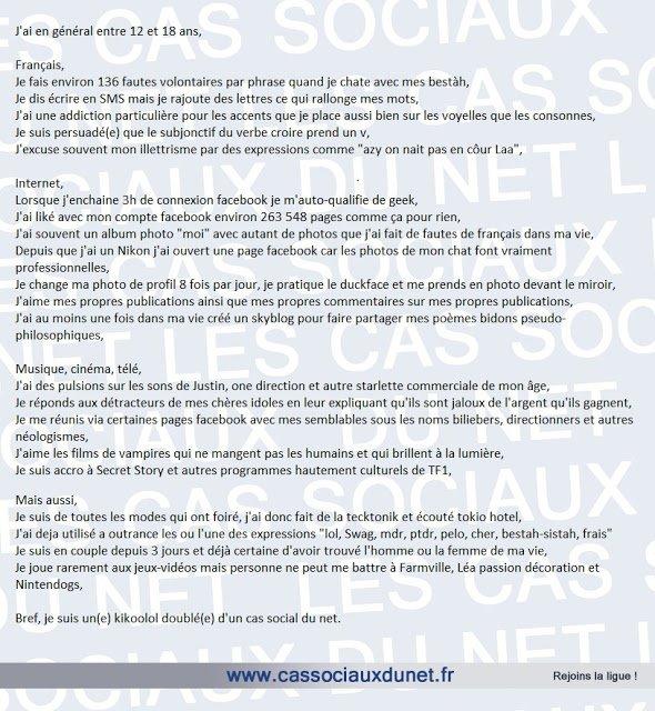 Article du site web www.lescassociauxdunet.fr