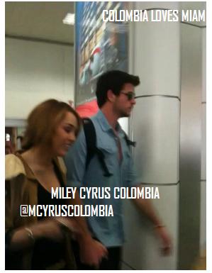 20.05.11 Miley & Liam arrivent en Colombie + Interview au Costa Rica