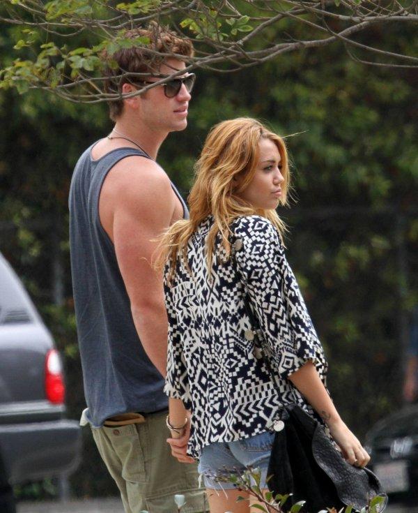 07.08.11 Miley et Liam à Los Angeles