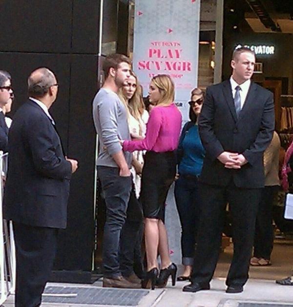 08.09.2011 Ouverture du magasin Topshop, Chicago