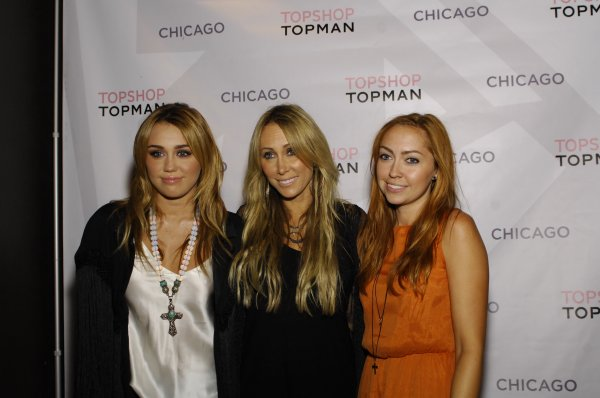 08.09.2011 Ouverture du magasin Topshop, Chicago