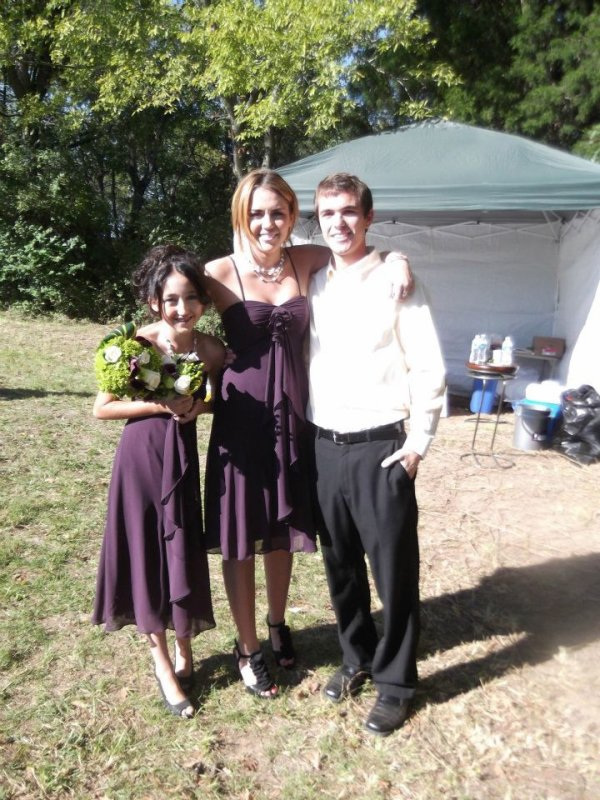 01.10.2011 Mariage de son oncle Mick Cyrus, Tennessee