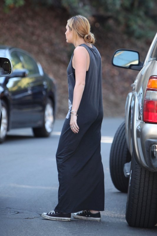 08.10.2011 Miley à Los Angeles