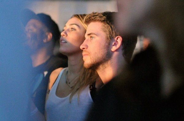 16.11.2011 Miley & Liam à Google Music Launch
