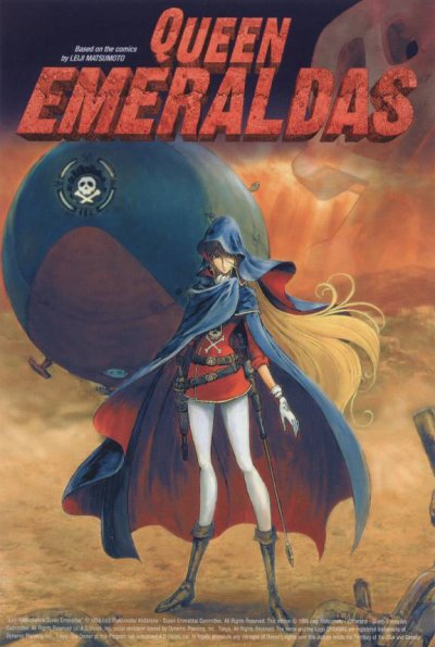 Emeraldas, l'alter ego de captain Harlock