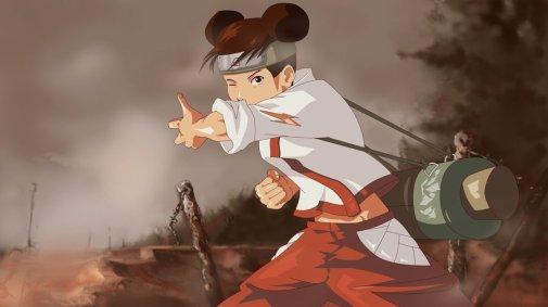 Tenten, une ninja féministe