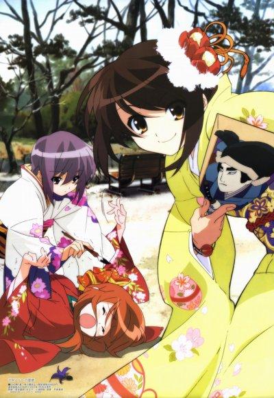 Mikuru Asahina, une sempai victime de sa kōhai !