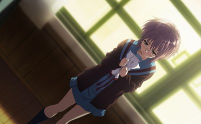 Yuki Nagato, une cyborg calculatrice !
