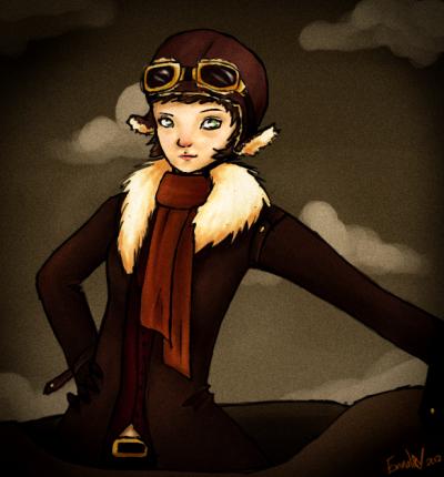 Amelia Earhart, une pionnière de l'aviation