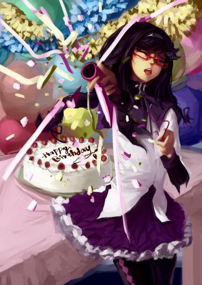 Aujourd'hui , je fête mon anniversaire !!!