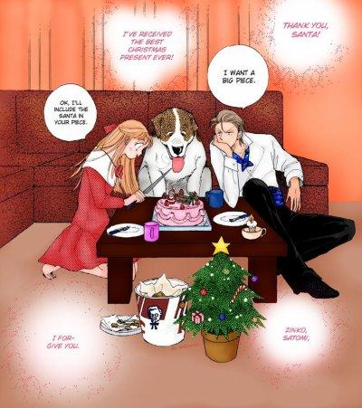 Le Père Noël ouvre sa hotte !!!