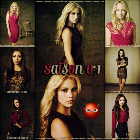 Photoshoot promotionnel saison 4