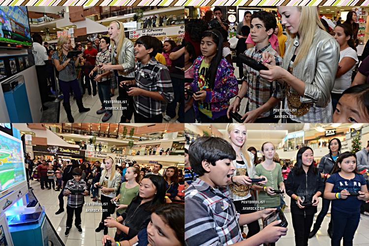 09 décembre 2012 | Peyton et le cast de « Jessie » à l'évènement « How You Will Play Next » lors du Wii U Showdown à LA.