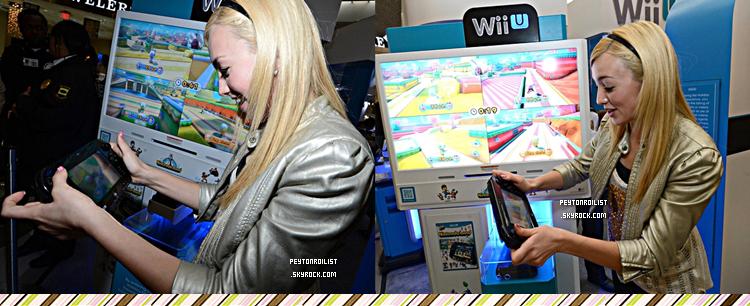 09 décembre 2012   Peyton et le cast de « Jessie » à l'évènement « How You Will Play Next » lors du Wii U Showdown à LA.