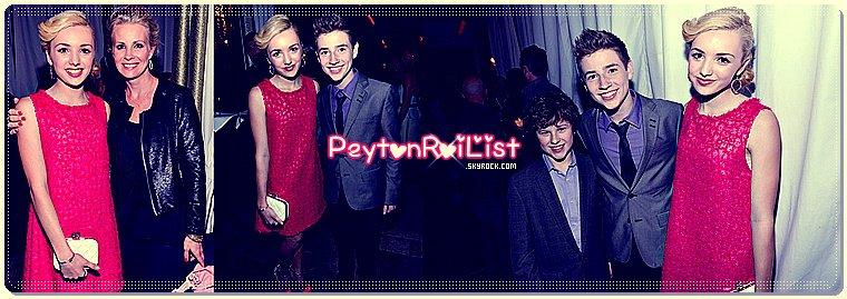 25/01/13 : Pey était sur le tapis noir pour l'évènement « Entertainment Weekly Screen Actors Guild Awards Pre-Party ».