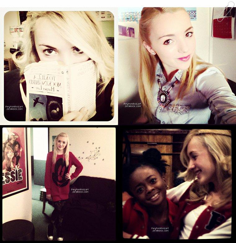 Voici de nombreuses nouvelles photos personnelles de Peyton List !