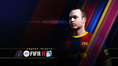 Andrés Iniesta FIFA 11