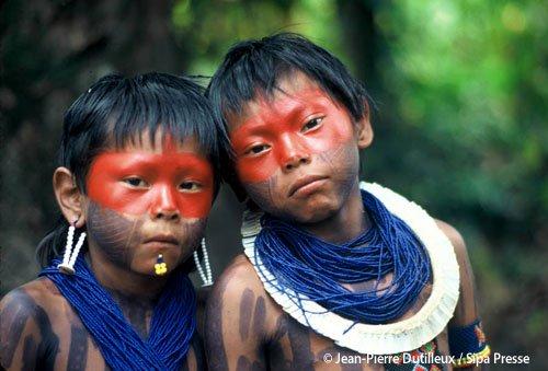 un peuple ancestrale qui vit en harmonie avec la nature ...