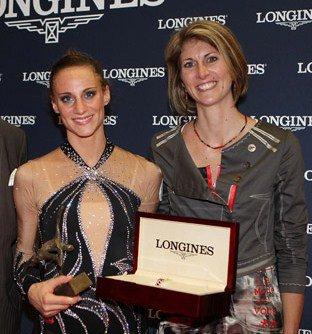 DELPHINE LEDOUX PRIX DE L'ELEGANCE LONGINES 2011