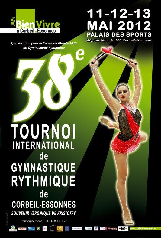 DELPHINE LEDOUX, 38e (et dernier) TOURNOI INTERNATIONAL DE CORBEIL
