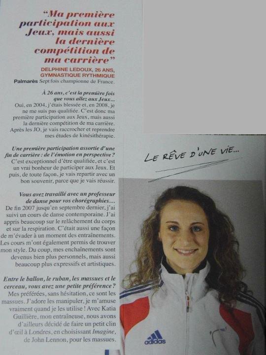DELPHINE DANS LE MAGAZINE BE SPÉCIAL ÉTÉ 2012