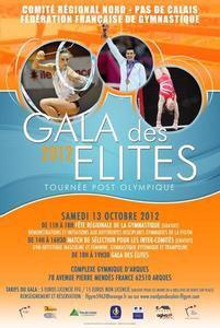DELPHINE LEDOUX REMET LES JUSTOS POUR LE GALA DES ELITES 2012