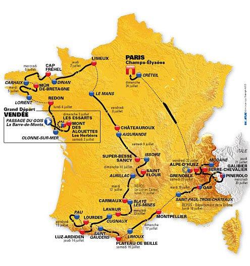 Article spécial - Tour de France 2011