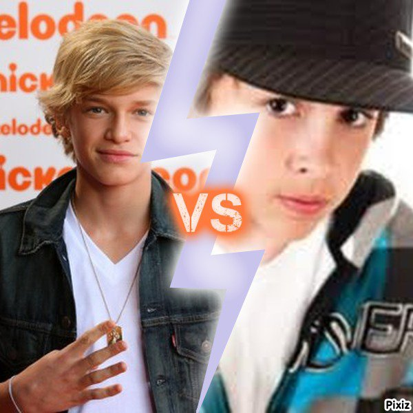 Alors c ki votre favoris?Cody ou Jacob?