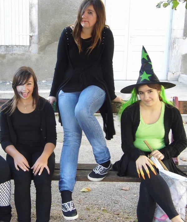 Halloween avec les meufs (l)