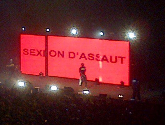 Concert SEXION D'ASSAUT (l) (l) (l)