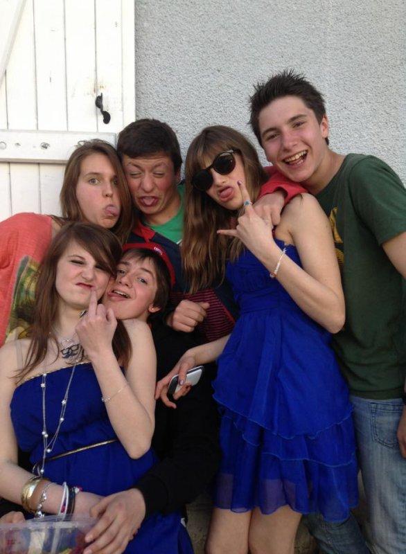 Mon anniversaire avec les gens les plus cool au monde :P (l)