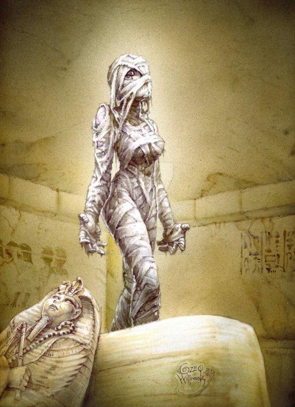 La prêtresses d Anubis