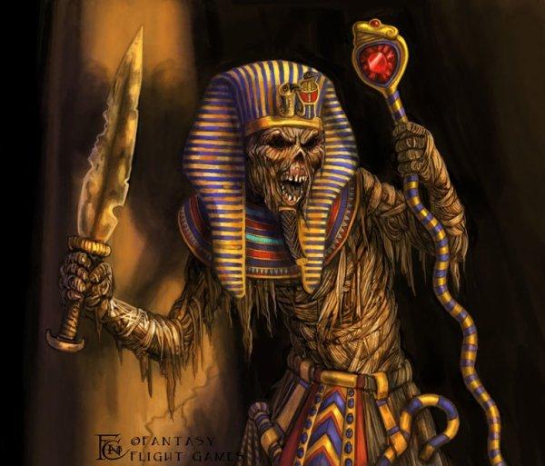 La momie du  pharaon maudite