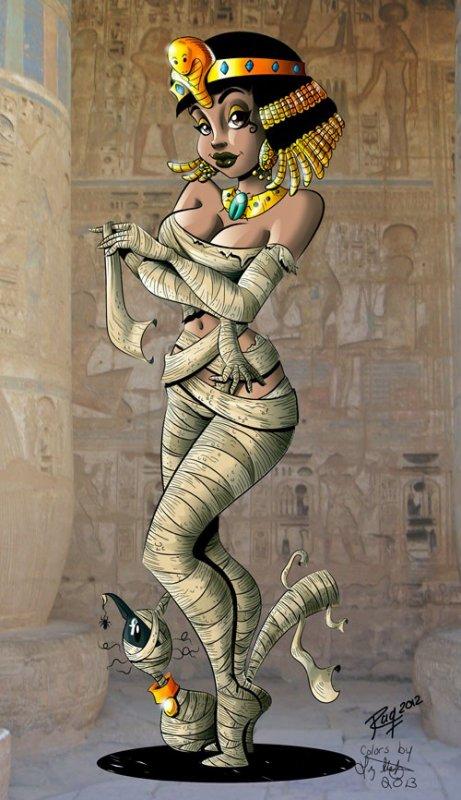 Une très jolie momie
