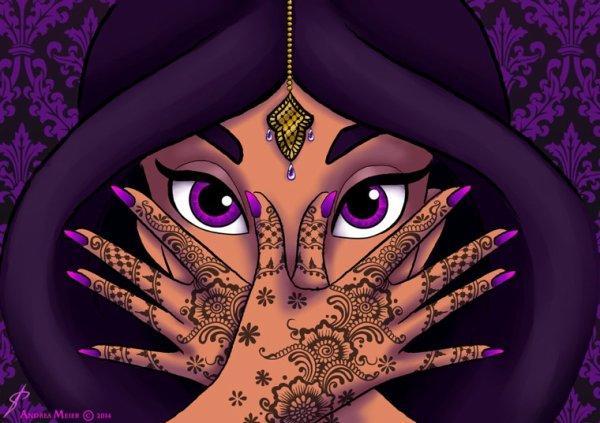 La beauté d une femme sont ces yeux