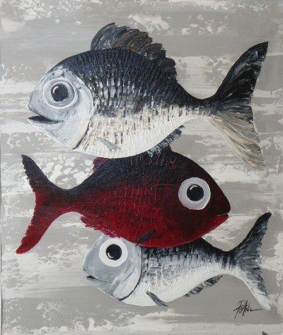 Vilain petit poisson rouge!